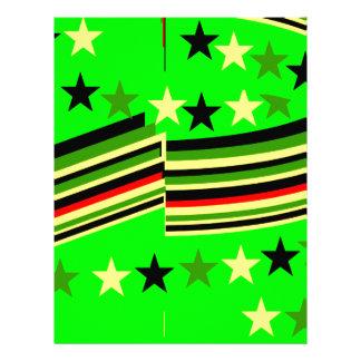Verde lima plantillas de membrete