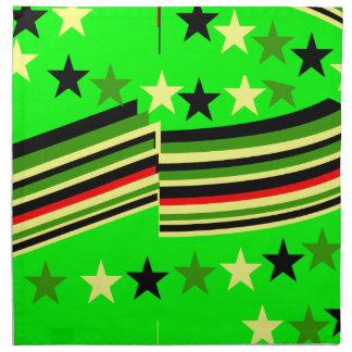 Verde lima servilletas de papel