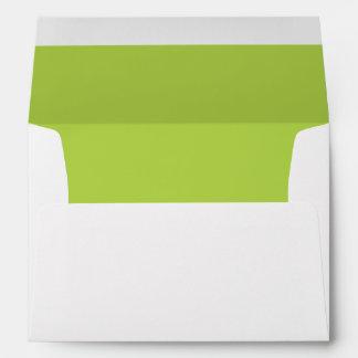 Verde lima sobre