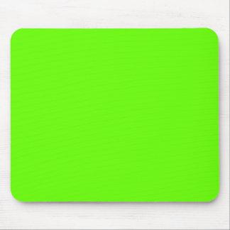 Verde lima alfombrilla de ratones