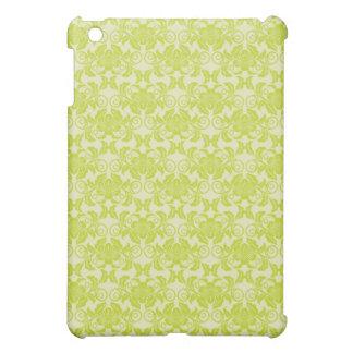 verde lima y damasco floral de la nata pern