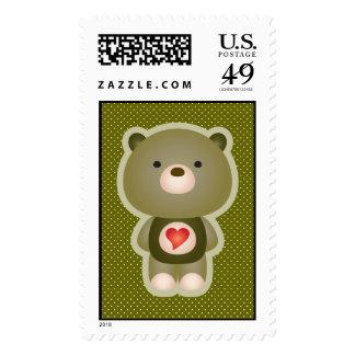 Verde lindo del oso