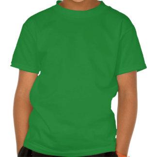 Verde lindo estropeado por la camiseta de la abuel