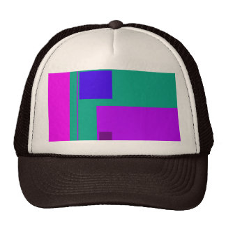 Verde linear de la belleza gorra