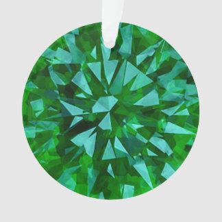 Verde magnífico de la gema