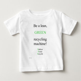 Verde magro t-shirts