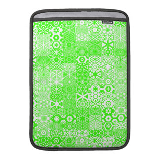 Verde mareado de Pattern_Electric de los placeres Fundas Para Macbook Air