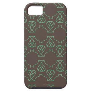 Verde marrón de Avante Garde iPhone 5 Carcasa