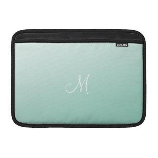 Verde menta de Ombre Funda MacBook