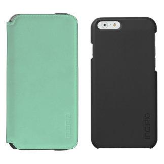 Verde menta funda billetera para iPhone 6 watson