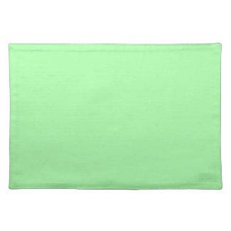 Verde menta manteles individuales