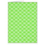 Verde modelado tarjetas
