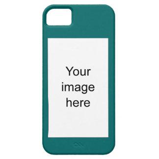 Verde Modelo de encargo de plantilla en blanco iPhone 5 Carcasa