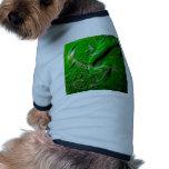 verde mojado del papel pintado ropa de perros