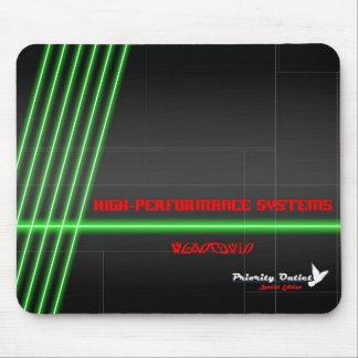 Verde Mousepad de alta tecnología [de la EDICIÓN E