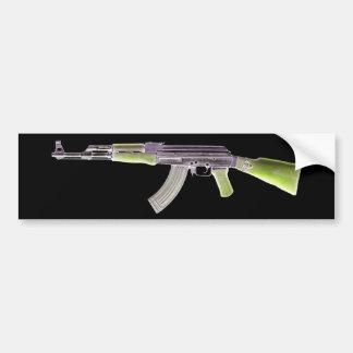 Verde negativo de AK-47 Pegatina Para Auto