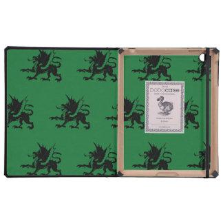 Verde negro de los dragones