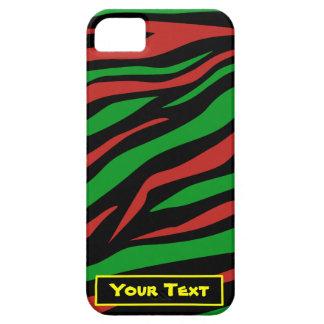 Verde negro rojo - una tribu llamó a Quest Theme Funda Para iPhone 5 Barely There