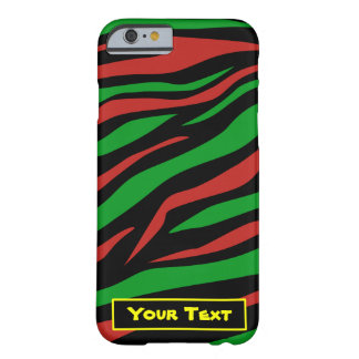 Verde negro rojo - una tribu llamó a Quest Theme Funda Para iPhone 6 Barely There