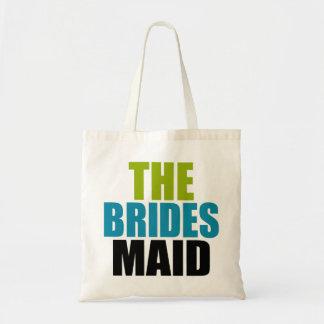 Verde negro y azul el bolso del boda de la criad bolsa