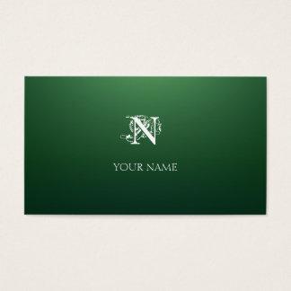 Verde Nouveau Business Card