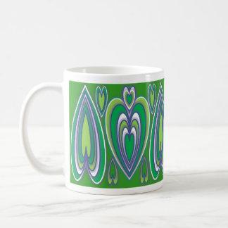Verde Ornamental26 Tazas De Café