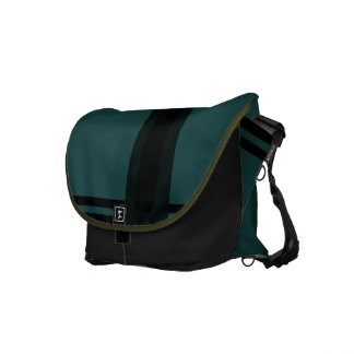 Verde oscuro bolsas de mensajería