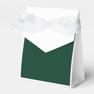 Verde oscuro cajas para regalos de fiestas