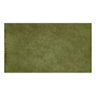 Verde oscuro cepillada texturizado como fondo tarjetas de visita