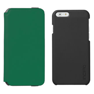 Verde oscuro funda billetera para iPhone 6 watson