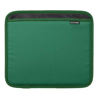Verde oscuro manga de iPad