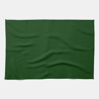 Verde oscuro toalla de cocina