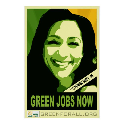 Verde para todo el poster