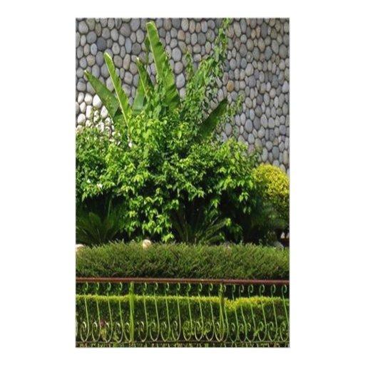 Verde perfecto de la imagen: Pared imperecedera Papeleria De Diseño