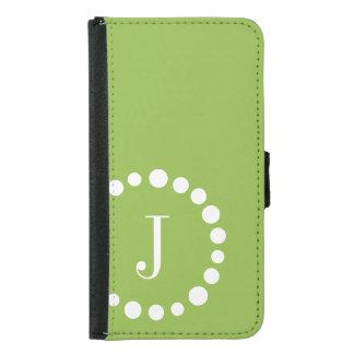 Verde personalizado de la caja de la cartera de la