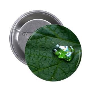 Verde Pin Redondo De 2 Pulgadas