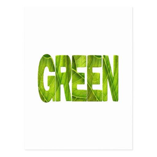 verde postal