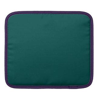 Verde profundo de la selva mangas de iPad