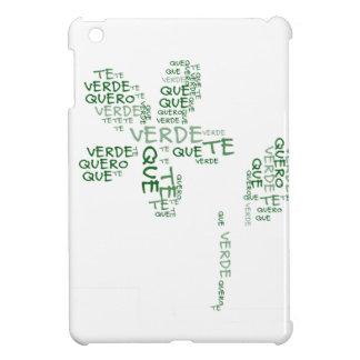 Verde que te quero verde iPad mini covers