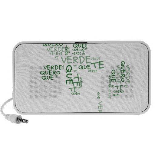 Verde que te quero verde iPhone speakers