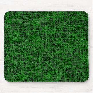 "Verde ""rasguño"" Mousepad"