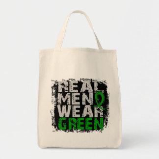 Verde real del desgaste de hombres de la enfermeda bolsas