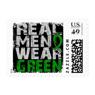 Verde real del desgaste de hombres de la sello