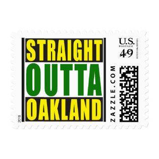 Verde recto de Outta Oakland Sellos