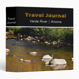 Verde River in Arizona Custom Travel Binder