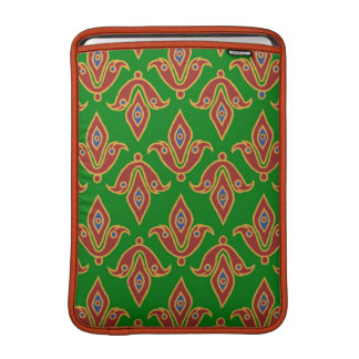 "Verde, rojo, aire 13"" de MacBook de la flor de lis Funda Macbook Air"