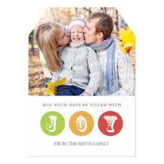 Verde rojo de la tarjeta de la foto de las Felices Invitación 12,7 X 17,8 Cm