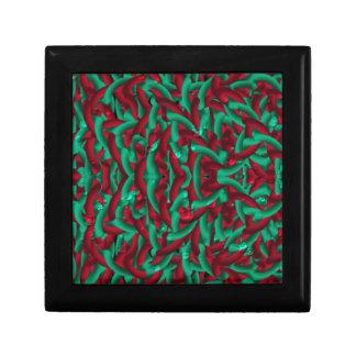 verde/rojo del pellmell caja de regalo