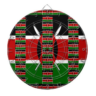 Verde rojo negro de Kenia