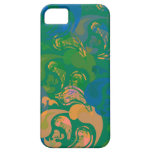verde salvaje del diseño el | de la cubierta el |  iPhone 5 Case-Mate carcasas